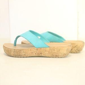 Crocs Women's 9 Sandals Thongs Slides